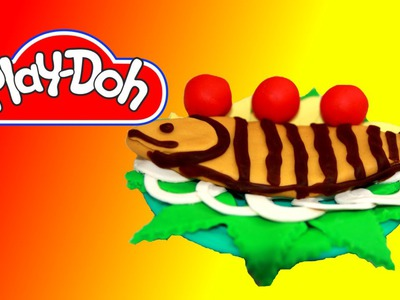 How to make Grilled Fish out of Play Doh