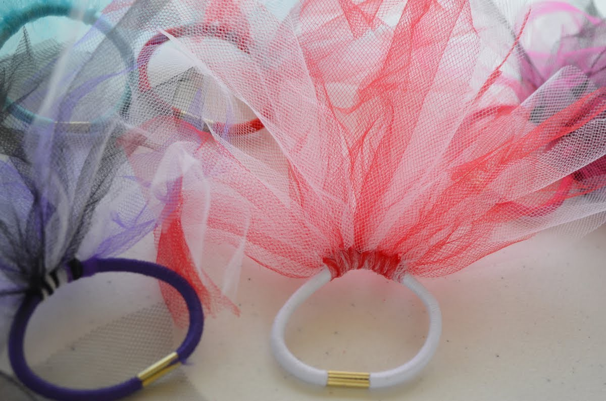 How to make hair ties easy craft for kids | Nik Scott
