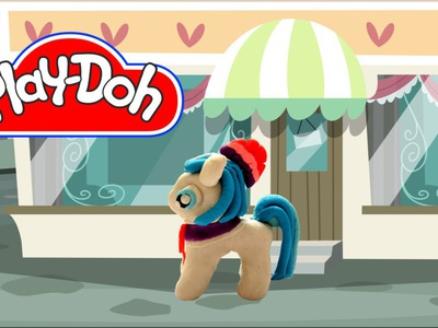 How to make Play Doh Coco Pommel My Little Pony