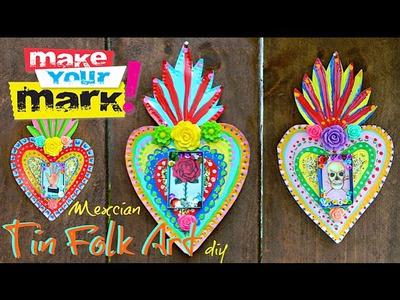 How to: Mexican Tin Folk Art