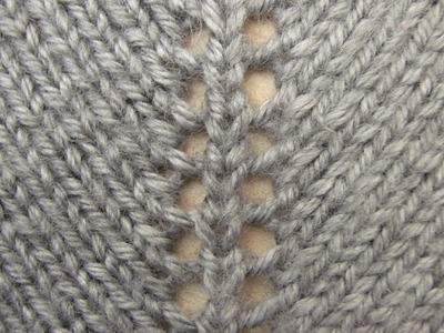 Increasing Stitches(yarn over) - Free Knitting Tutorials - Watch Knitting