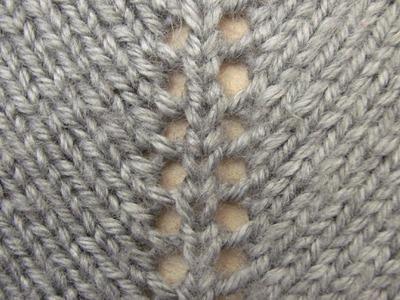 Increasing Stitches(yarn over) - Free Knitting Tutorials - Watch Knitting