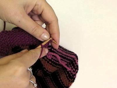 Kaffe Fassett Mystery Knit-a-Long Tutorials by Sarah Hatton Trim: Knitting on Your Edge