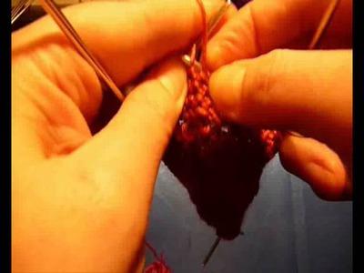 Как связать пинетки-сапожки спицами - 12. How to knit baby booties shoes - 12