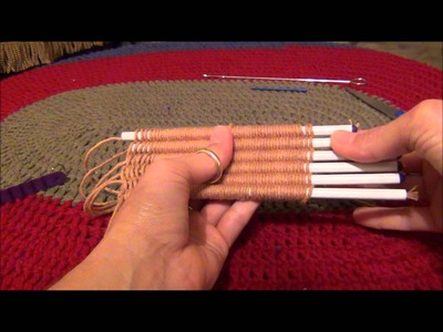 Knifty Knitter Straw Weaver Instructions