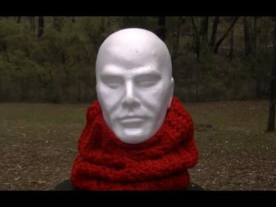 Knit Look Cowl Crochet Tutorial