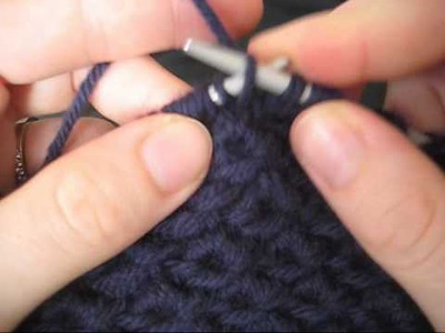 Knitting the Anemone Bobble Stitch