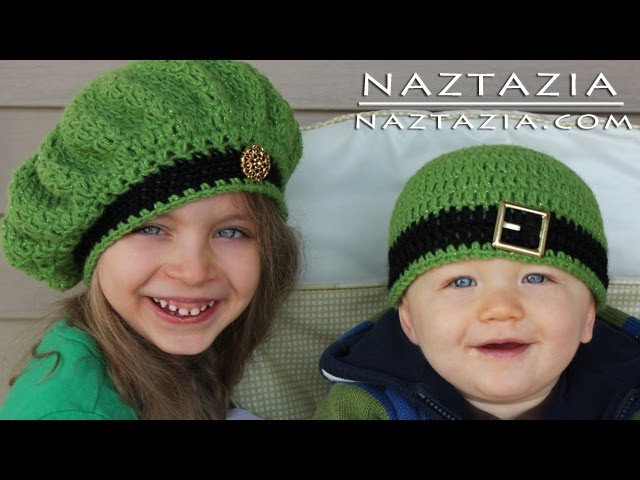 Learn How to Crochet - Easy Adjustable Magic Ring Loop Circle, Seamless Join & Irish Beret Hats