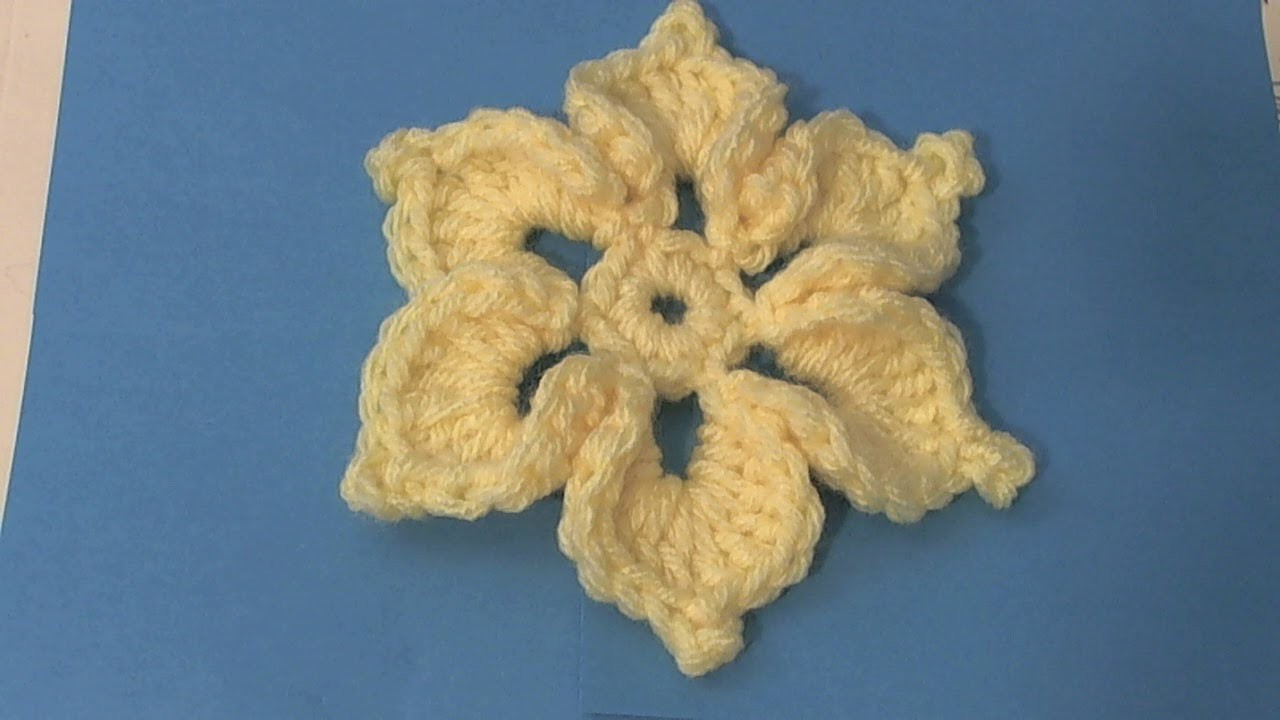 Learn to crochet all occasion flower - Flor
