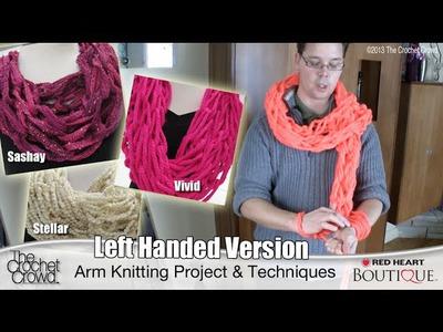 Left Handed, Arm Knitting
