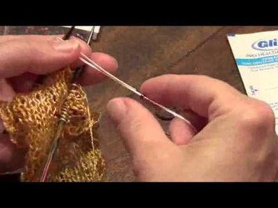 Lost City Knits - Beading Tutorial with dental floss