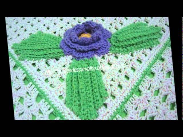 Meus croches - Lourdes Carvalho - Paraguaçu Paulista -SP