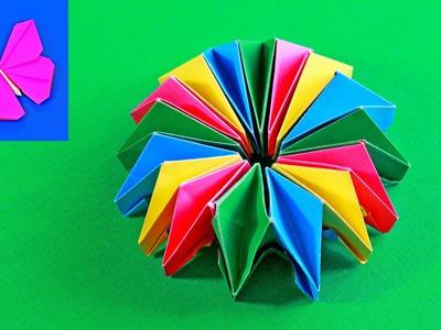 Оригами фейерверк (Origami Fireworks)