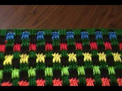 Response to Crochet Boucan Pattern Stitch