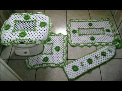 Tapetes de crochê em vários modelos - Tapetes & Cia