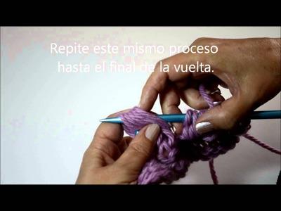 TUTORIAL CÓMO TEJER PUNTO CARACOL - Pearl Knitter