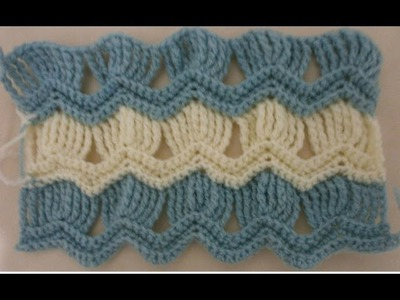 Vintage Fan Ripple Stitch