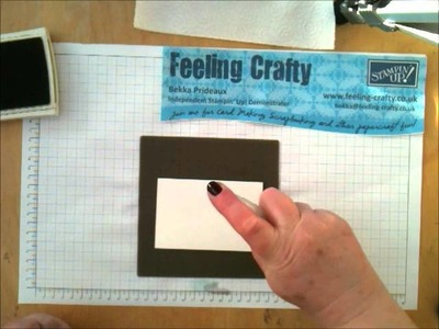 2 Simple Ways to Create Ombre Backgrounds for Paper Craft projects by UK Stampin' Up! Demo Bekka