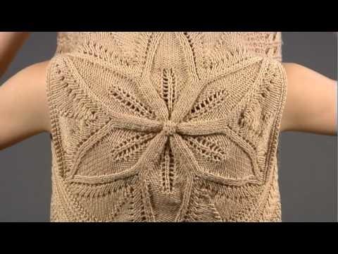 #4 Botanical Medallion Cardigan, Vogue Knitting Spring.Summer 2009