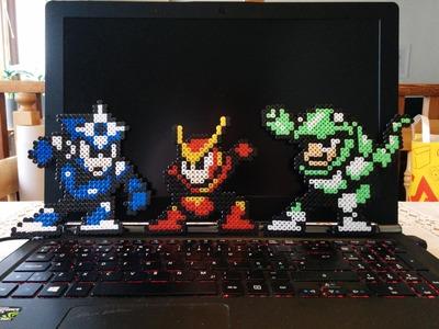 8 - Bit | Perler Beads - Mega Man 3 - Snake Man