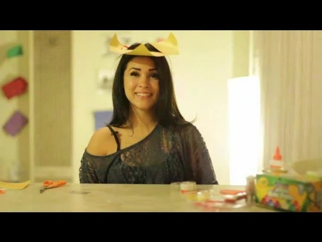 A Crafts Idea to Make a Paper Tricorn Hat : Arts & Crafts Projects