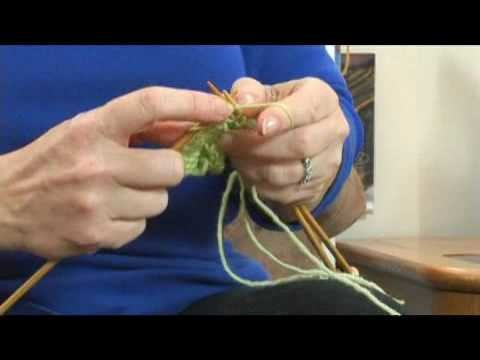Advanced Knitting Instructions : Advanced Knitting: Three-Needle Bind-Offs