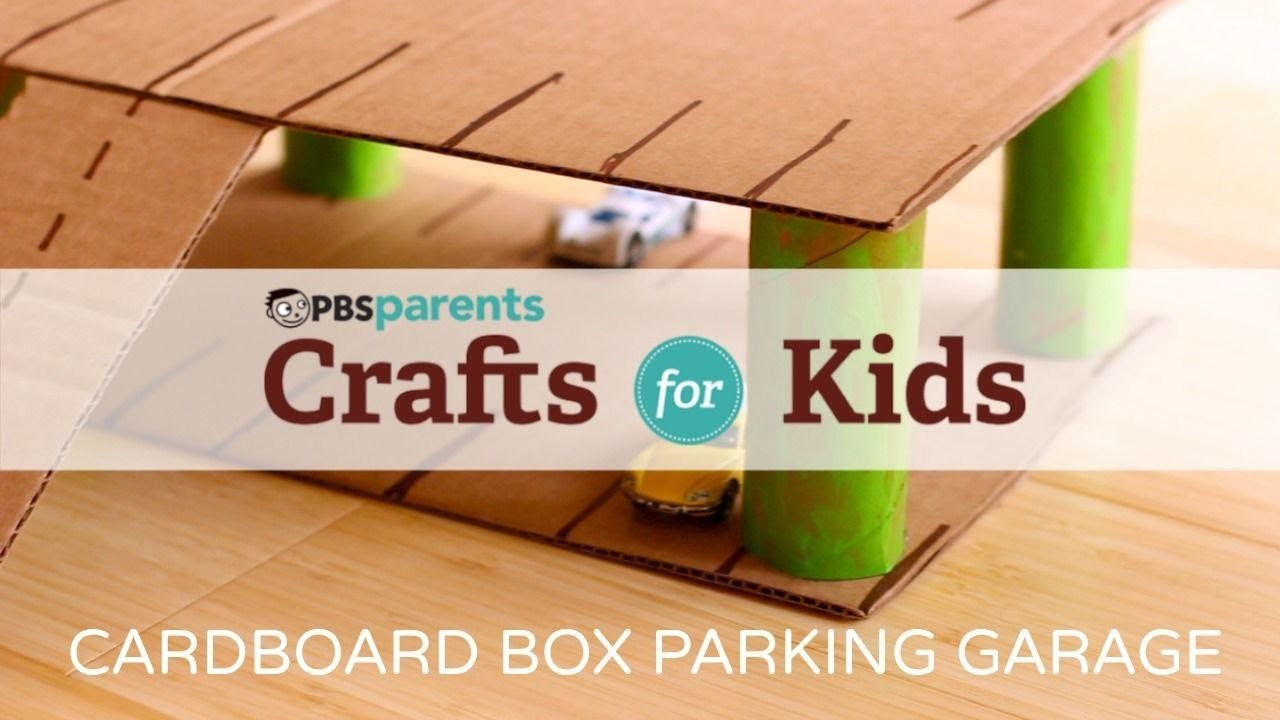 Cardboard Parking Garage | Crafts for Kids | PBS Parents