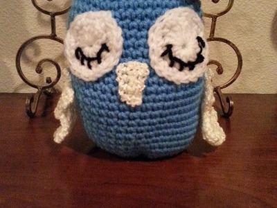 Crochet Amigurumi Sleepy Owl Part 1 DIY Tutorial