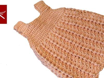 Crochet Baby Dress Straps - Crochet Geek