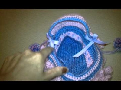 Crochet bag with a surprise inside.