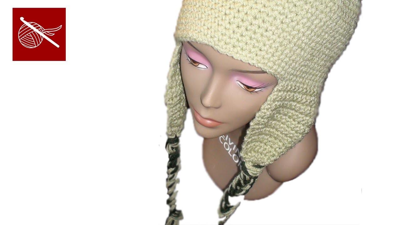 Crochet Cap Coligny Hat - Earflaps Crochet Geek