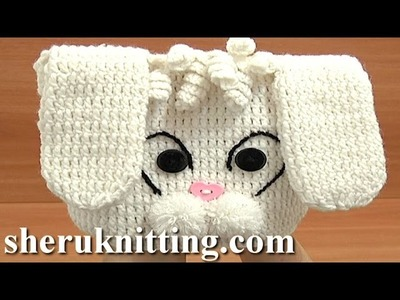 Crochet  Hat  Tutorial 1 Part 1 of 3 Free Crochet Animal Hat Pattern for Kids