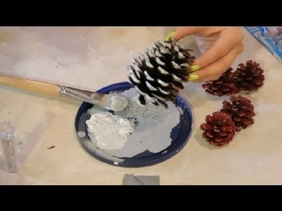 Decorating Cone Crafts With Glitter : Arts & Crafts