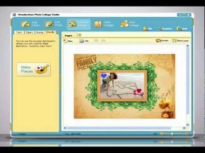 Digital Scrapbooking Software Video Tutorial - Photo Collage Maker - Wondershare