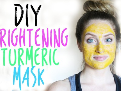DIY:  All Natural Brightening Turmeric Mask | vlogwithkendra