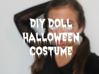 DIY Doll Halloween Costume ♡