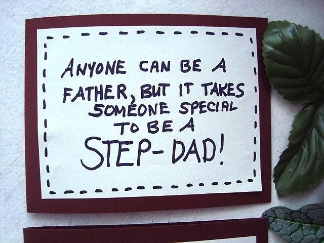 DIY FATHER'S DAY CARD, STEP-DAD, DAD, SPECIAL