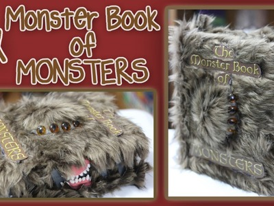 DIY Harry Potter Monster Book of Monsters