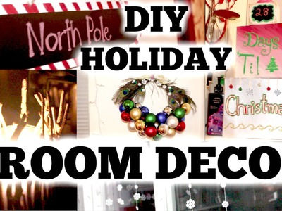 DIY HOLIDAY ROOM DECOR! #JingleWithJordan