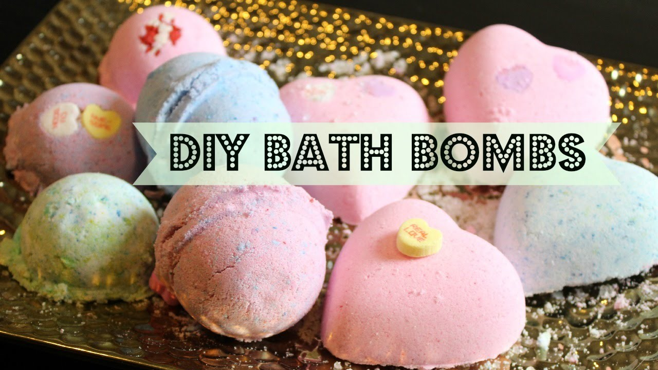 DIY: How to make your own Lush bath bombs