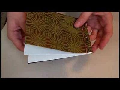 DIY Japanese Stab Stitch Binding