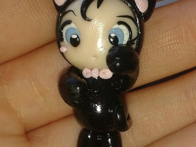 DIY: Polymer clay Tutorial Kitty Doll :3