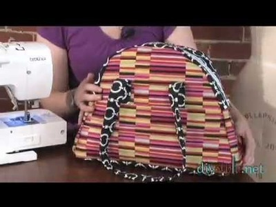 DIYStyle Episode 53-Zippered Tote (Part One)