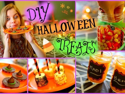 Easy DIY Halloween Treats!