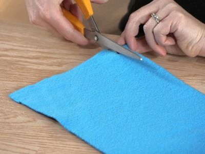 Easy-to-Make, No-Sew Fleece Scarves : Sewing Crafts & More