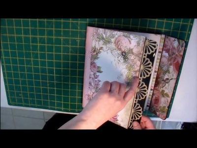 FiLoMa's Craft Project #07 - Paper Phenomenon February 2013 Kit Club Bonus Project 9 to 5