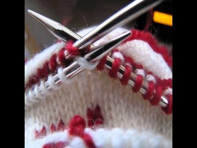 Free christmas stocking knitting patterns