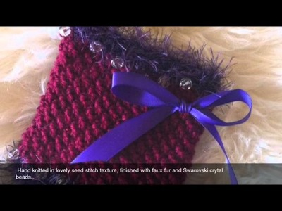 Hand Knitted Neck Warmer, by La Maison Vienna Couture Canine