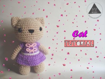 How To Crochet A Cat Amigurumi [FULL TUTORIAL]