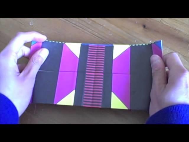 How to fold origami glasses (Stone Bridge Press)